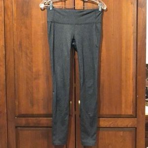 Gap Fit g fast gray leggings size small guc ankle